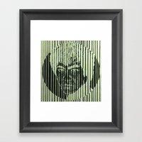 Bruce II Framed Art Print