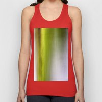 Abstract Reedbed Unisex Tank Top