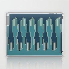 hands in zip mode Laptop & iPad Skin