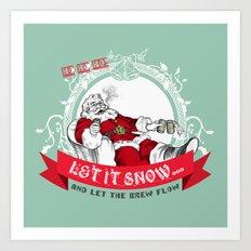 Tis the season to be Jolly Art Print