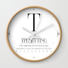 Type Wall Clock