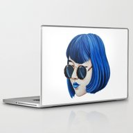 Laptop & iPad Skin featuring Blue by Cannibal Malabar