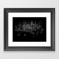 London Soho Madness Framed Art Print