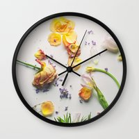 afterparty Wall Clock