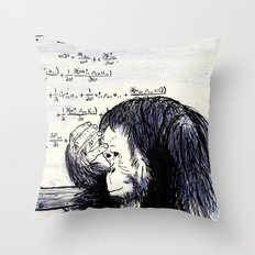 The Thinker Throw Pillow