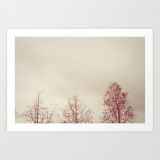Exhale. Art Print
