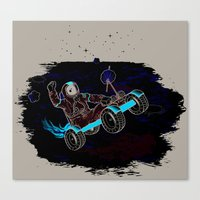 Space Dementia Canvas Print
