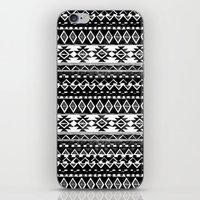 TRIBAL MONOCHROME iPhone & iPod Skin