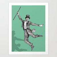 Fred Astaire Art Print