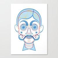 A Rare Boy Canvas Print