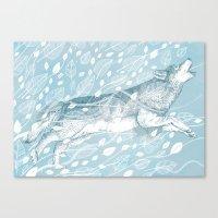 Wild Wind Canvas Print
