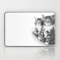 Double Dose Of  Kittens Laptop & iPad Skin