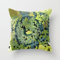Returning Throw Pillow