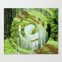 Forest Trips. Canvas Print