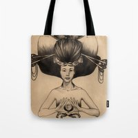 CANCER - Black And White… Tote Bag