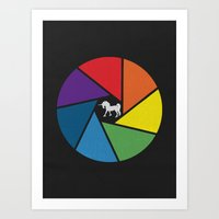 Capture The Unicorn Art Print