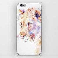 Patience . Lion iPhone & iPod Skin