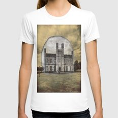 Leeds Womens Fitted Tee White SMALL