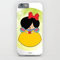 iPhone & iPod Case featuring Snow white by Nhani · Graphic Design & Photography