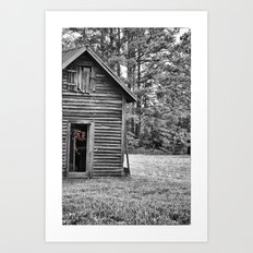 Growing (Abandoned) Art Print