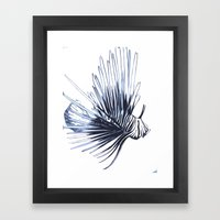 Scorpleonfish 1 Framed Art Print