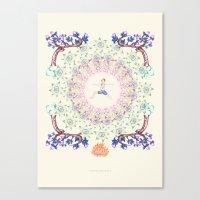 Yoga Garden IV Canvas Print