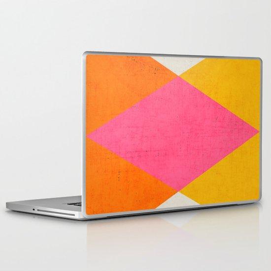 summer triangles Laptop & iPad Skin