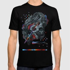 A momentary realization of a larger connection Mens Fitted Tee Black SMALL