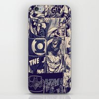 Comic Land iPhone & iPod Skin