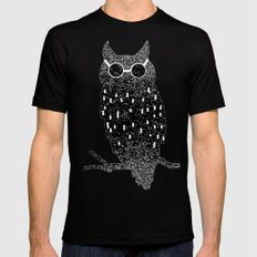 cool bird Mens Fitted Tee SMALL Black