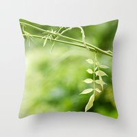 The Little Leaves Throw Pillow