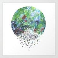 A Stillness Like I've Ne… Art Print