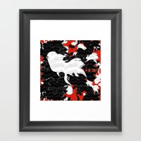 FISH PARADISE V4 Framed Art Print