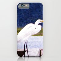 iPhone & iPod Case featuring Egret Regret by Laura Brightwood