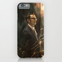 The Abyss Gazes Back iPhone 6 Slim Case