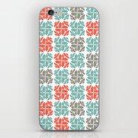 Block Print Geo iPhone & iPod Skin