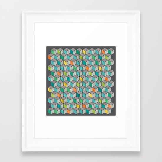 Block Party Framed Art Print