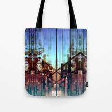 Flipped On Tote Bag