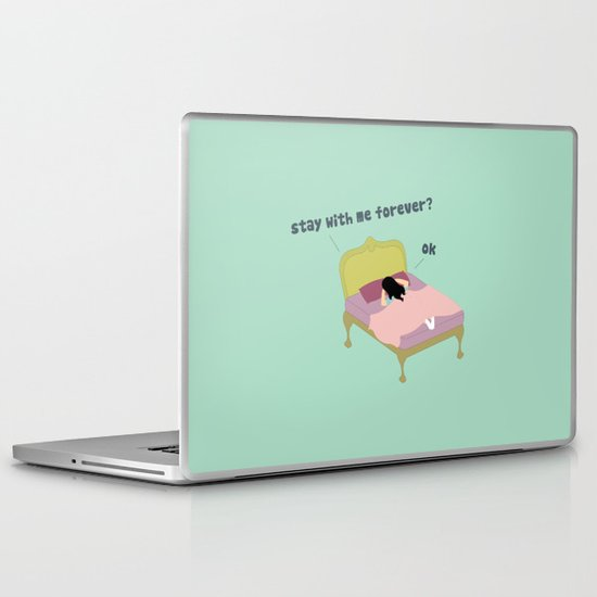 Stay Forever Laptop & iPad Skin