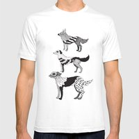 Andersen dogs Mens Fitted Tee White SMALL