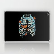 FISH BONE  Laptop & iPad Skin