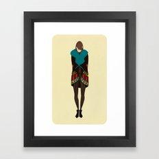 Vanitas Colorful Jacket Framed Art Print
