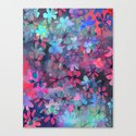 PATTERN {flower dance} Canvas Print