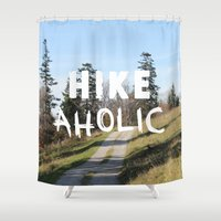 HIKEaholic Shower Curtain