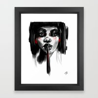 If I Had A Heart Framed Art Print