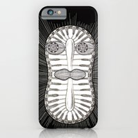 iPhone & iPod Case featuring Diatom Face by Cryptohelix