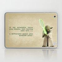 Yoda Squasher  Laptop & iPad Skin