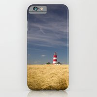 iPhone & iPod Case featuring Happisburgh Lighthouse by Simon's Photography