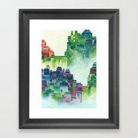 Bridge City Framed Art Print