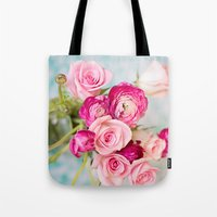 Bunches of Pink II Tote Bag